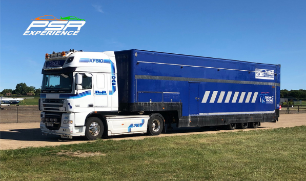 DAF XF 105 Truck- PSR - Pass Drive - Driving Experience