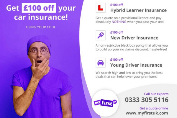 Learner Driver Insurance - Pass Drive